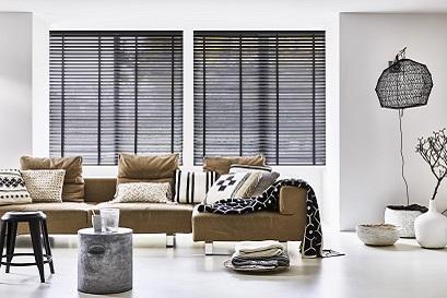Houten jaloezieën in jouw woonkamer? | INHUIS Plaza