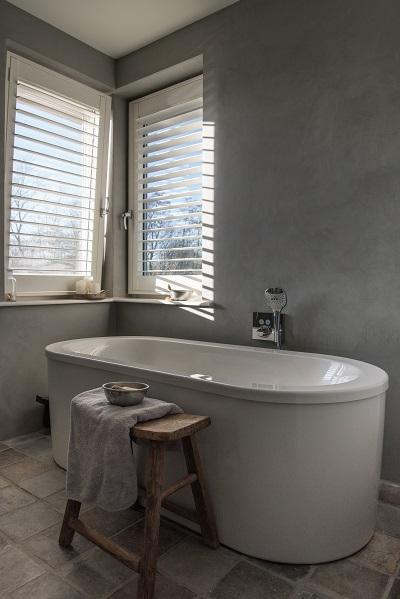 Shutters in de badkamer | INHUIS Plaza