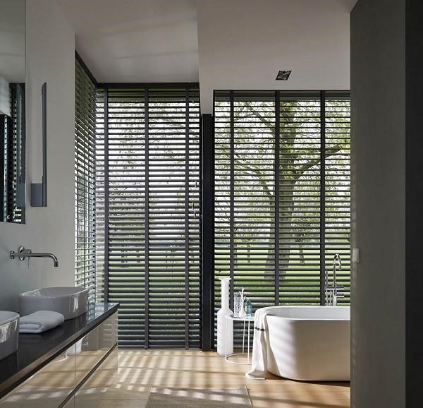 Inspiratie | Aluminium jaloezieën in landelijk interieur | INHUIS Plaza