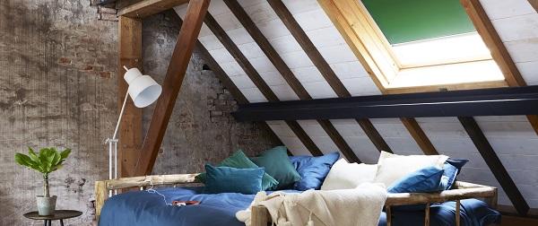 Rolgordijnen in de slaapkamer | INHUIS Plaza