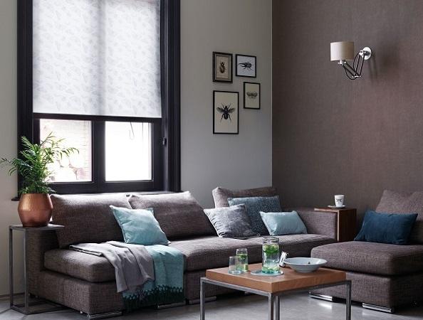 Rolgordijnen in de woonkamer | INHUIS Plaza