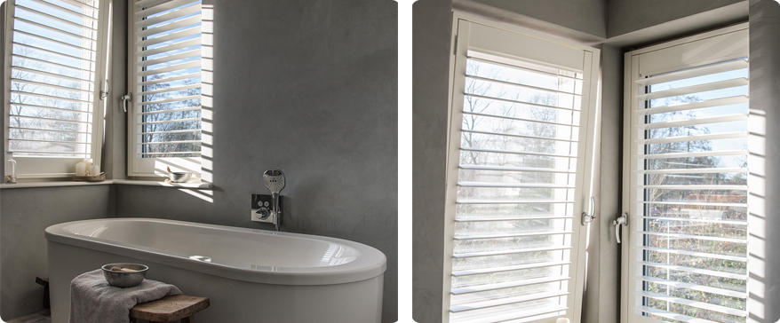 Raamdecoratie voor de badkamer: wat kies jij? | INHUIS Plaza