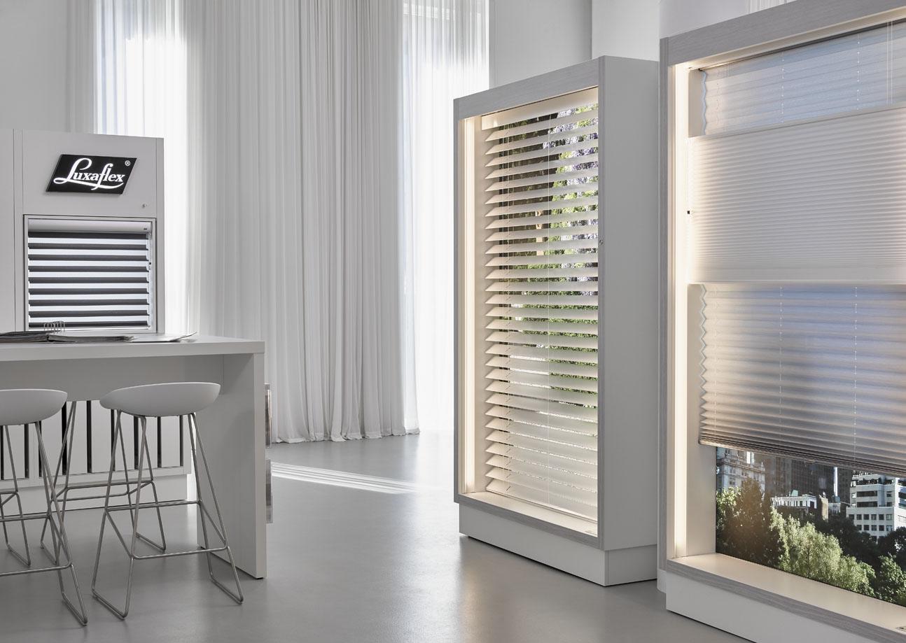 Nieuwe luxaflex inspiration shop raamdecoratie barendrecht