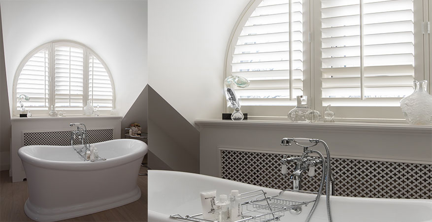 raamdecoratie op maat voor de badkamer | INHUIS Plaza