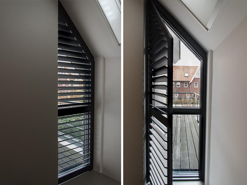 Gordijn In Kozijn : Schuine ramen deze raamdecoratie is perfect inhuis plaza