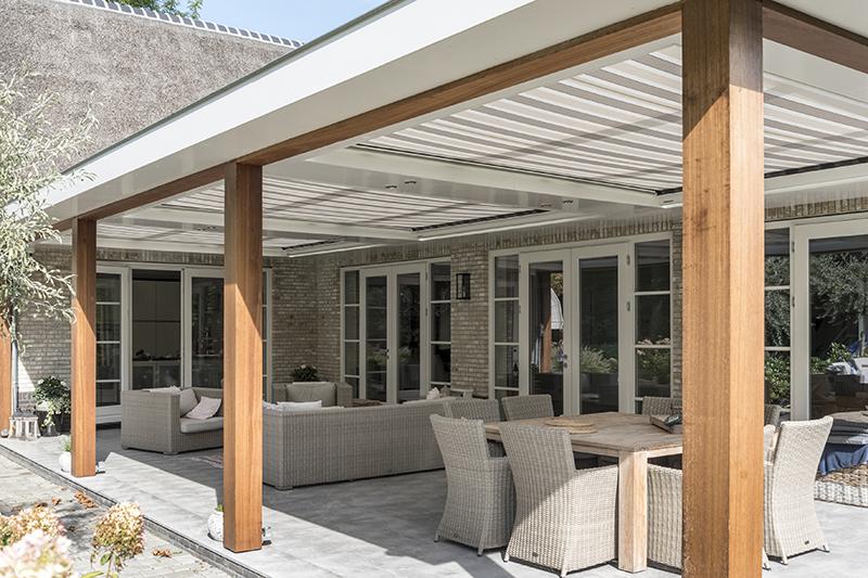 Inspiratie: terraszonwering markies en zonnescherm inhuis plaza